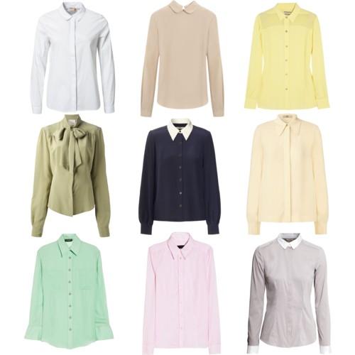 Деловые блузы